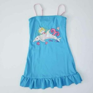 Dolphin Mermaid Swimsuit Coverup Dress